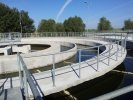 Decantor primar - Stația de pretratare a apei Chiciu